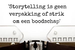 vertel authentieke verhalen