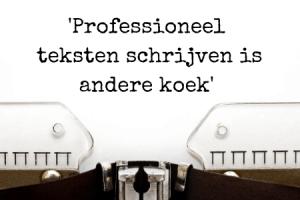 Teksten zelf schrijven - citaat 2 blog Andries