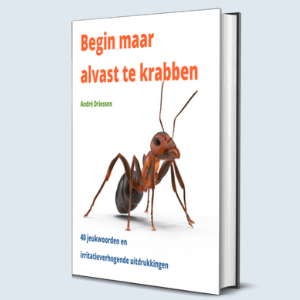 Cover ebook Begin maar alvast te krabben