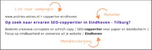 Verleidelijke metatags schrijven - voorbeeld