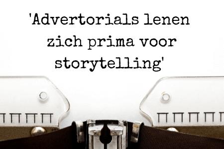 Blog of advertorial - gebruik jij storytelling