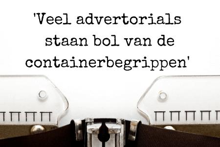 blog of advertorial - hoeveel containerbegrippen gebruik jij